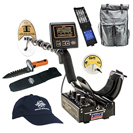 Amazon.com : Whites GMT Metal Detector GEARED UP Bundle : Garden & Outdoor