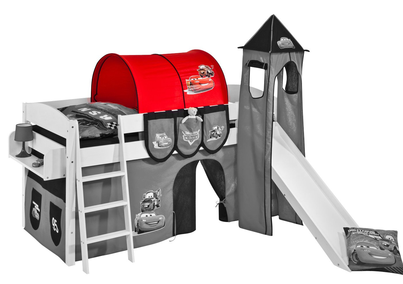 Etagenbett Vorhang Cars : Lilokids tunnel disney cars für hochbett spielbett und
