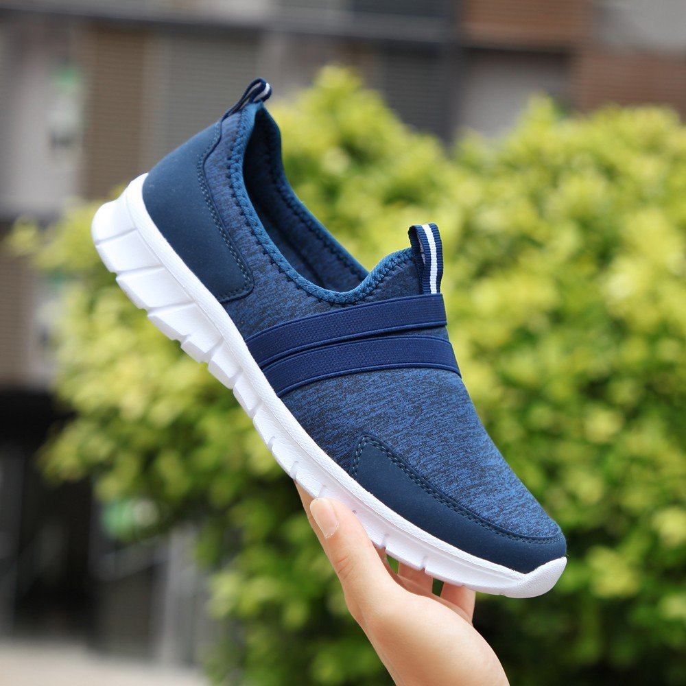 Hot Sale!WuyiMC Women mesh Shoes,Fashion Mesh Soft Round Head Bottom Set Foot Casual Sports Lazy Sneakers Shoes