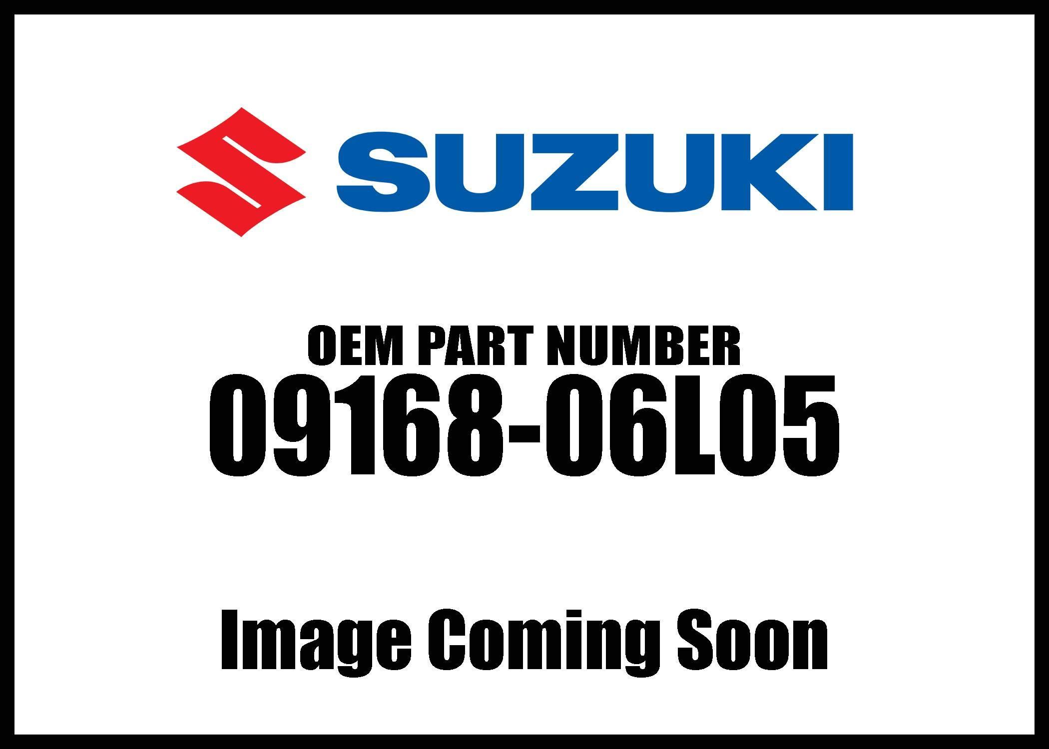 Suzuki Gasket5 8X13x1 09168-06L05 New Oem