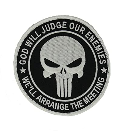 a1bf63f7756 Amazon.com  Navy SEAL God Will Judge Our Enemies We ll Arrange The ...