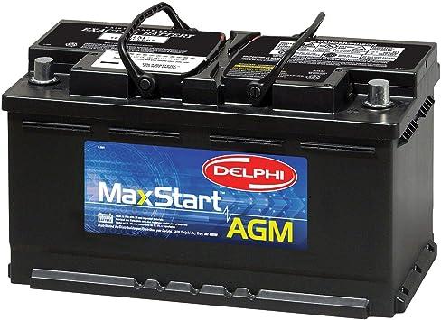 Delphi BU9049 MaxStart AGM Premium Automotive Battery, Group Size 49