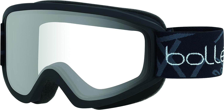 bollé Freeze Matte Black/Clear Medium Ski Goggles Unisex-Adult