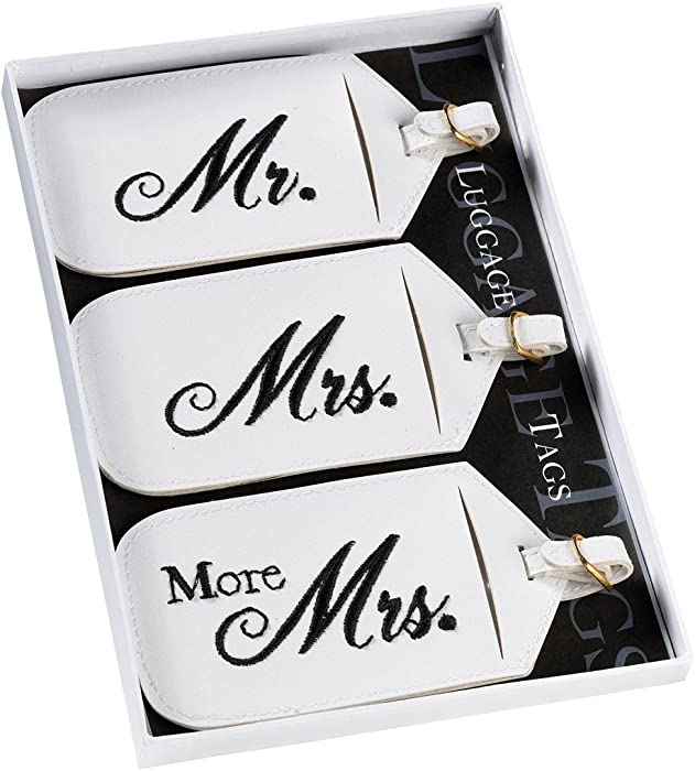 amazon com mr and mrs luggage tags luggage tags