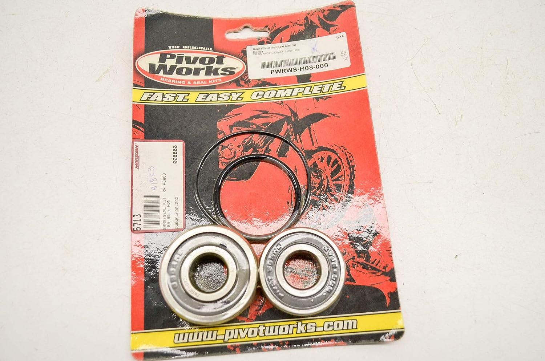 Pivot Works rueda trasera y sello Kit Honda Street Bike, fabricante: pworks, número de pieza: 840906-ad, VPN: pwrws-h08 - 000-ad, condición: nuevo: ...