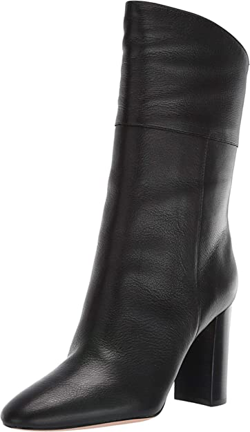 J.Crew Leather Mid-Calf Stacked Anya