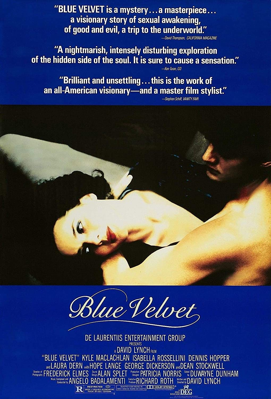 73126 Blue Velvet Movie 1986 David Lynch Dennis Hopper Decor Wall 24x18 Poster Print
