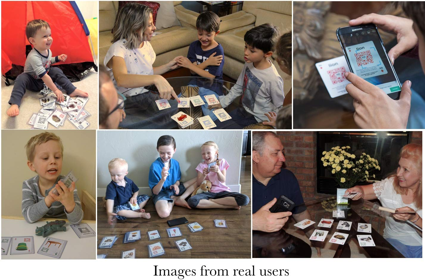The ONLY One with Audio! Linguacious Award-Winning Arabic Around The Home Flashcard Game