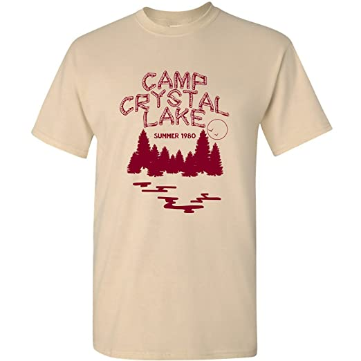 2695e14c UGP Campus Apparel Camp Crystal Lake - Funny 80s Horror Movie Halloween T  Shirt