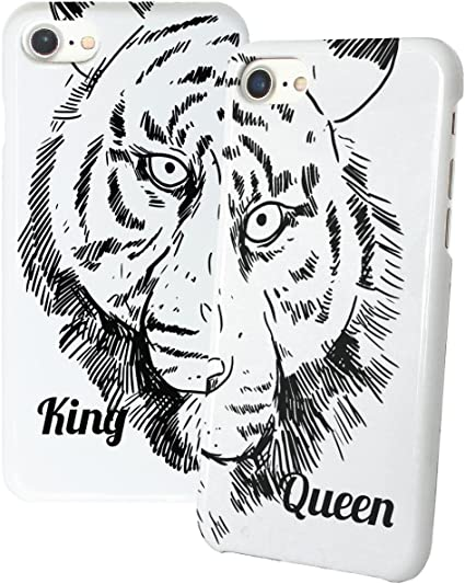 : King Queen Tiger Jungle Animated Hand Drawn