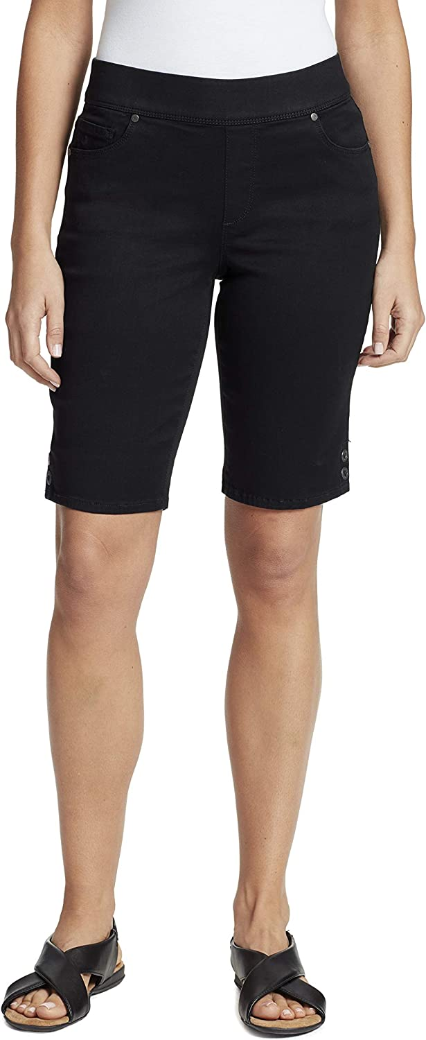 Gloria Vanderbilt Women's Avery Pull on Bermuda Short