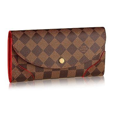d3f204bc40148 Louis Vuitton N61221 Damier Canvas Caissa Wallet, Cherry at Amazon ...