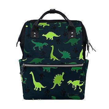 Amazon.com: mochila pañales bolsa verde animal dinosaurio ...