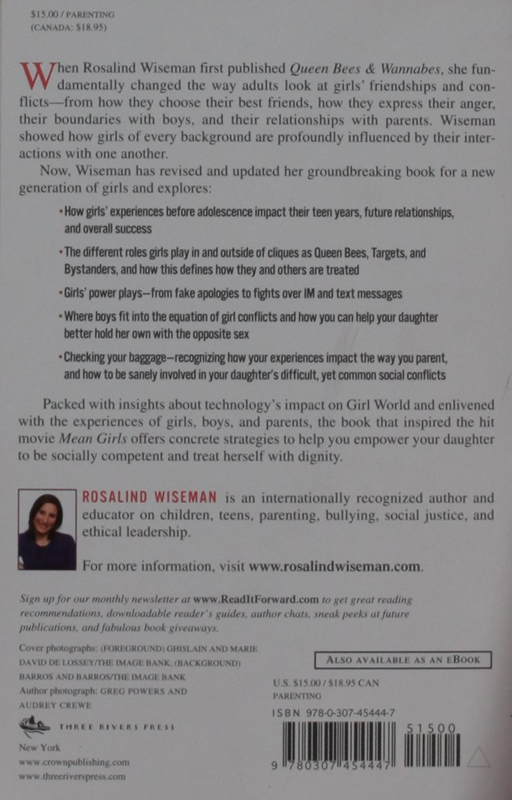 Queen Bees and Wannabes: Helping Your Daughter Survive Cliques, Gossip,  Boyfriends, and the New Realities of Girl World: Rosalind Wiseman:  9780307454447: ...