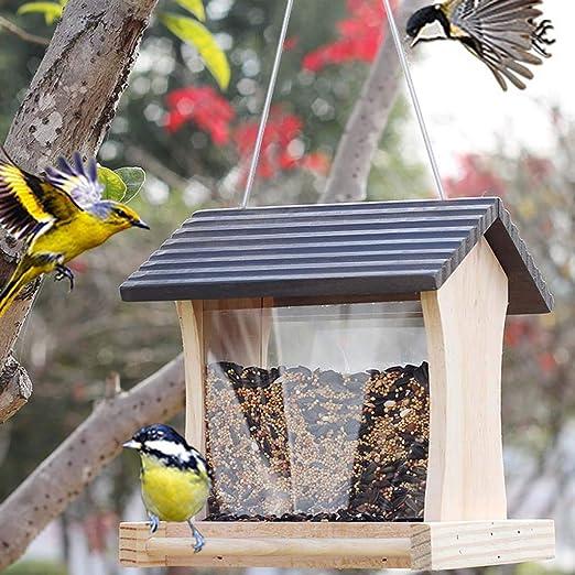 Birdhouses GONAPájaro jardín Villa pájaro casa Nido Jaula o Fuera ...