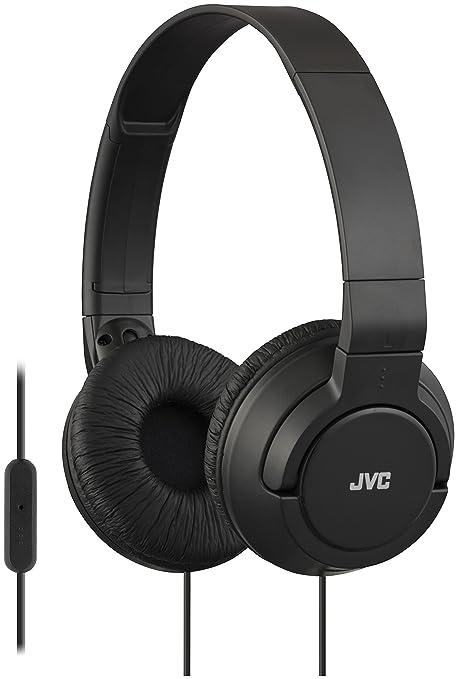 JVC HA-SR185-B-E - Auriculares de diadema (con controlador de llamada)