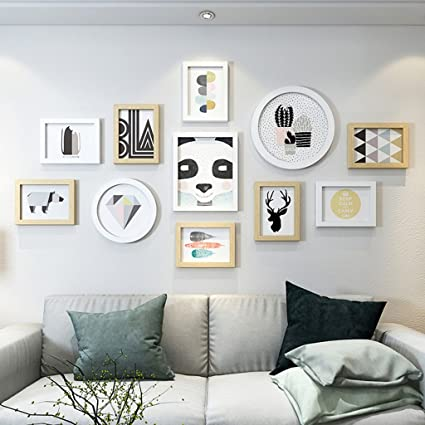 Amazon.com - photo wall Photo Wall Decoration Living Room ...