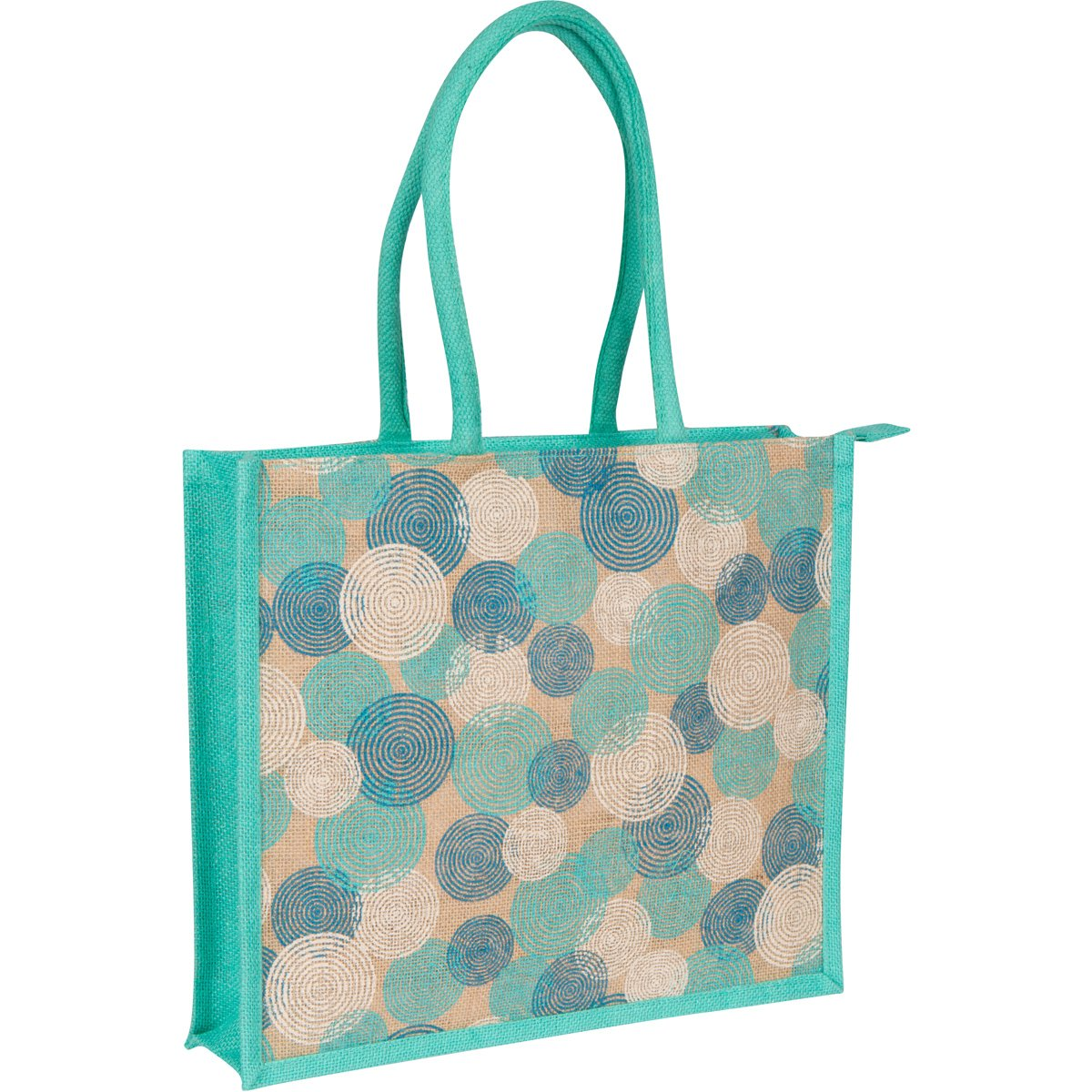 Eco-friendly Mystic Aqua Women's Beach Tote - Shopping Bag