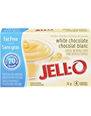 Jell-O Fat-Free Instant Pudding, White Chocolate, 32g (Pack of 24)