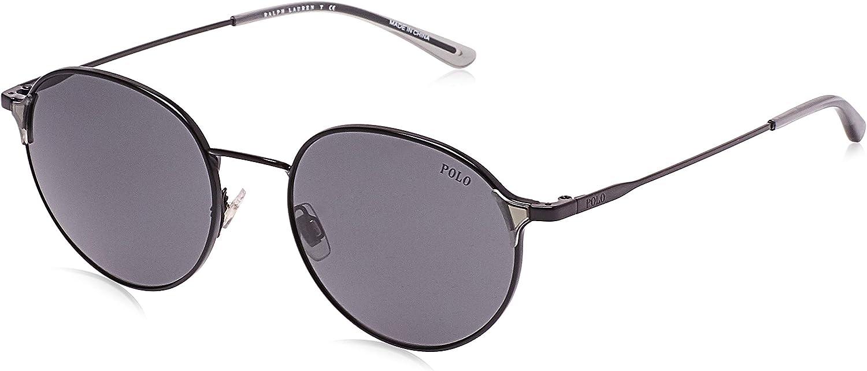 Ralph Lauren POLO 0PH3109 Gafas de sol, Demi Shiny Black, 53 para ...