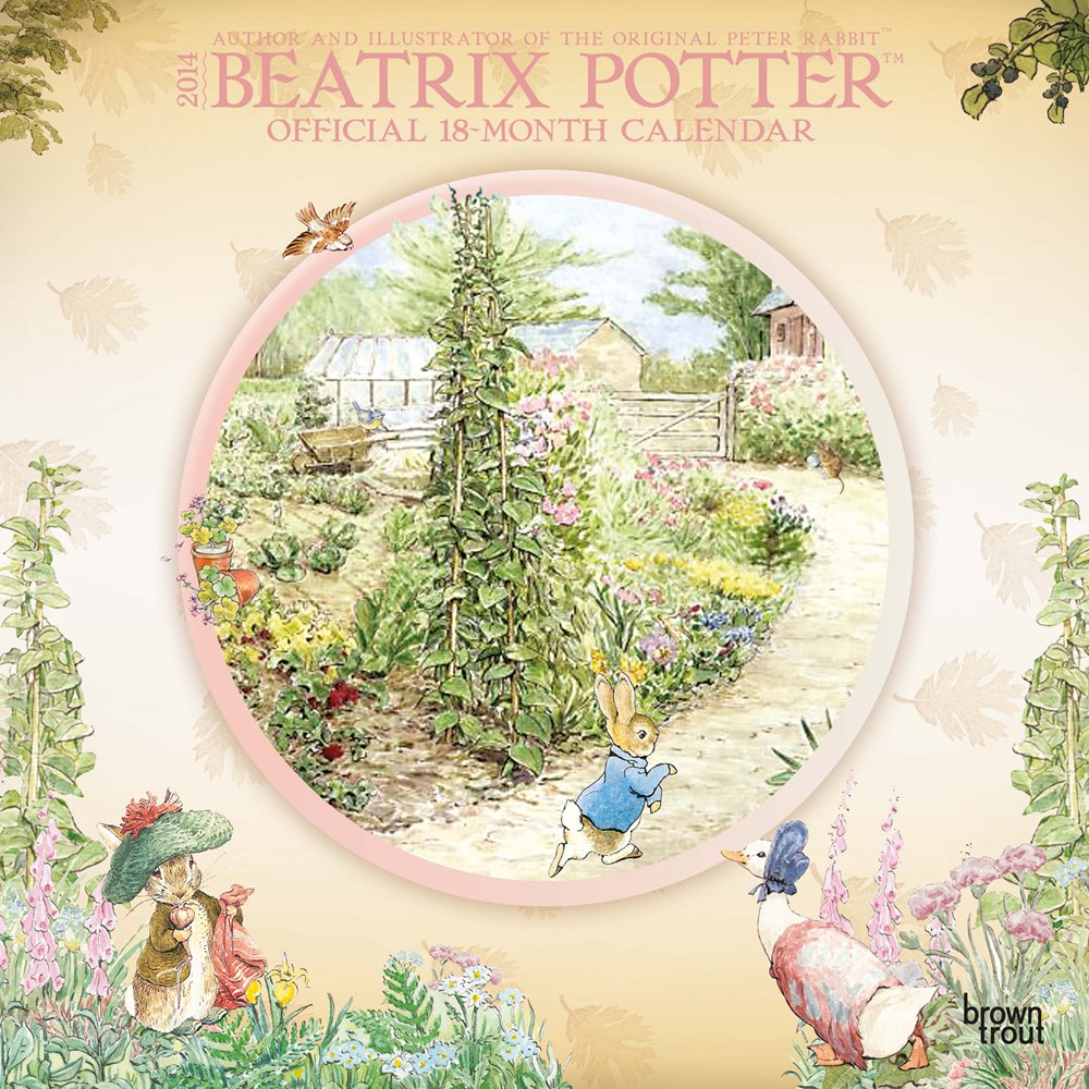 Beatrix Potter Official 18-Month 2014 Calendar: Author and ...