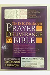 Prayer and Deliverance Bible (Big) Paperback