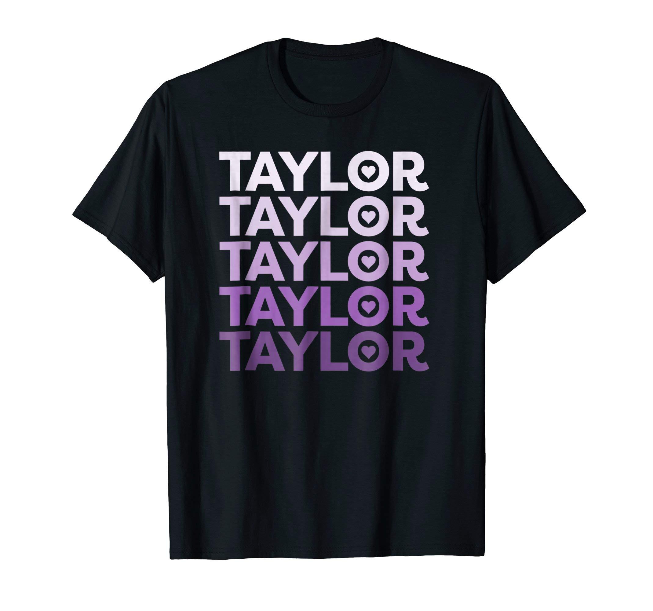 Love Heart Taylor T-Shirt Lilac Dreams