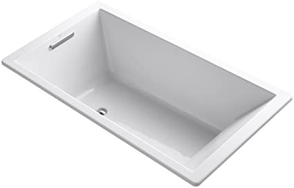 KOHLER K 1136 0 Underscore 5.5 Foot Acrylic Bath, White