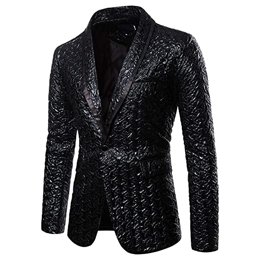 Amazon.com: Goddessvan 2019 Mens Casual Fit Slim Suit ...