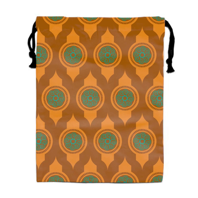Rose Background Drawstring Portable Storage Shoe Outdoor Travel Bag Dustproof Gift Bags