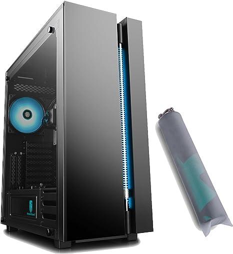 DEEPCOOL New Ark 90 Caja PC Gaming Inteligente E-ATX con Sistema de Refrigeración Líquida RGB,
