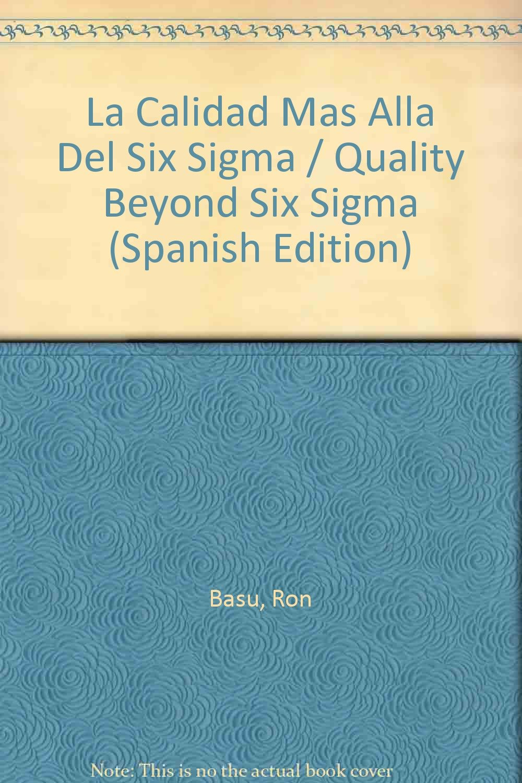 La Calidad Mas Alla Del Six Sigma / Quality Beyond Six Sigma ...