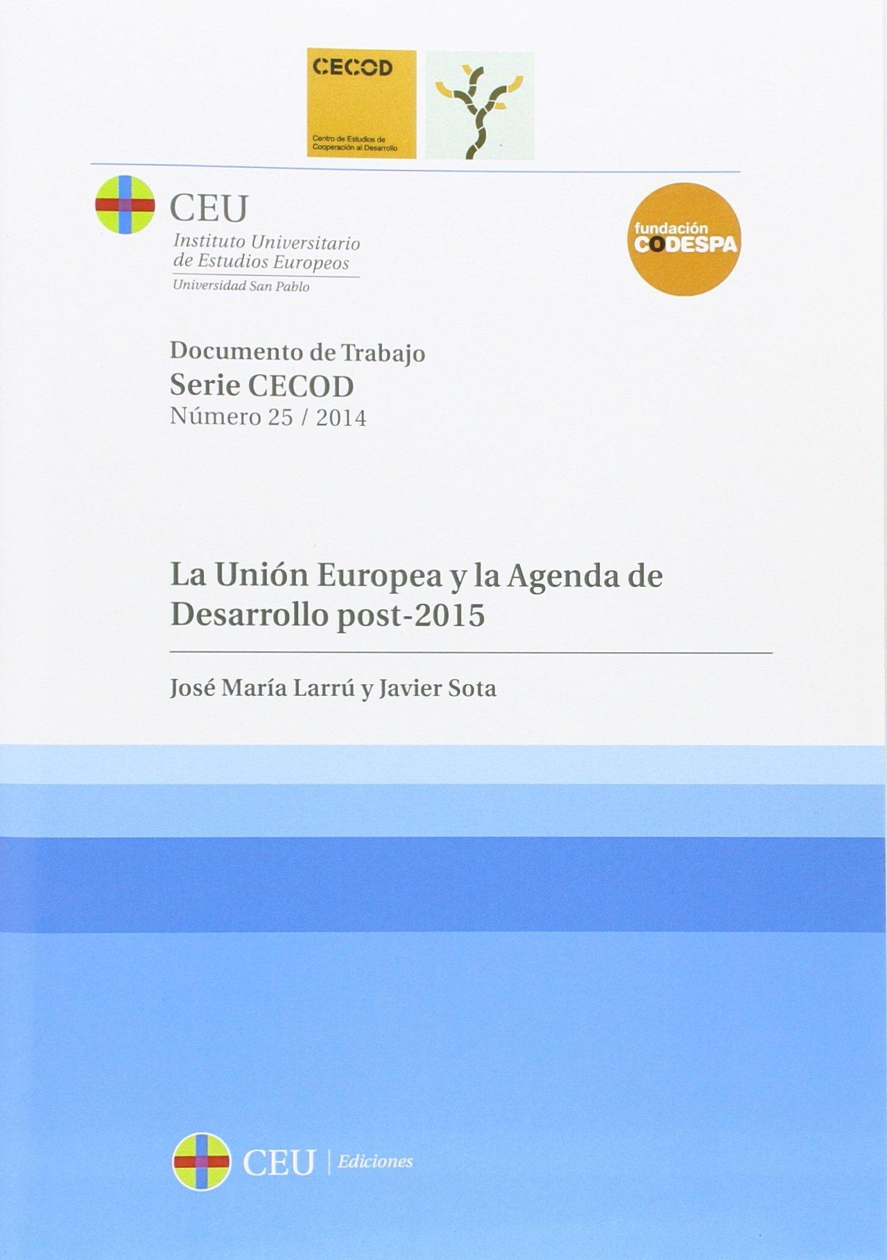 La Unión Europea y la Agenda de Desarrollo post-2015 ...