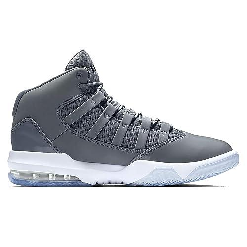 new style cd8f8 32d2c Jordan Nike MAX Aura Cool AQ9084-010 - Zapatillas para Hombre, Color Gris,