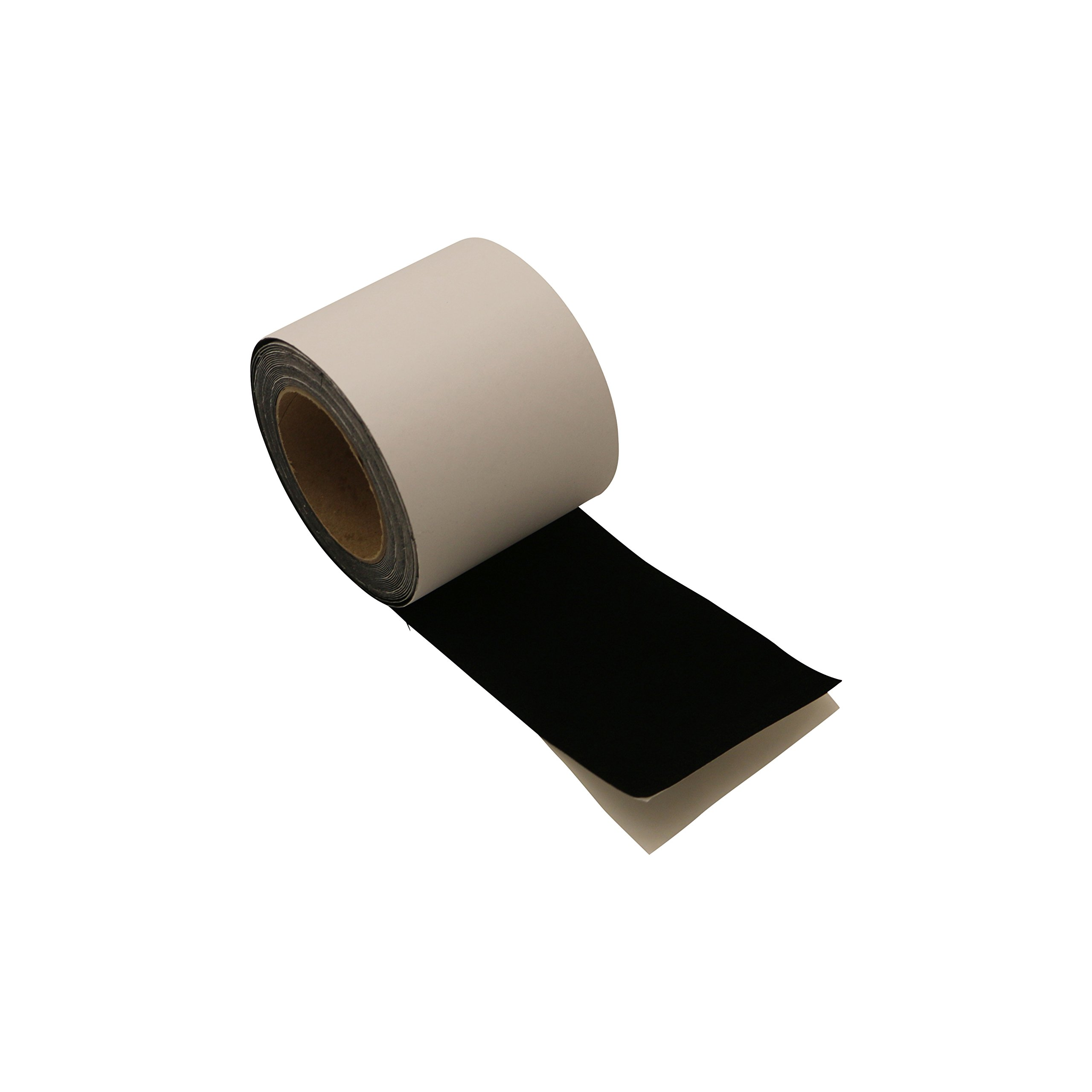 J.V. Converting FLOCK-1/BLK4833 JVCC FLOCK-1 Flocking Tape: 4'' x 25 ft., black