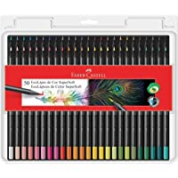 Lápis de Cor EcoLápis Supersoft 50 Cores, Faber-Castell