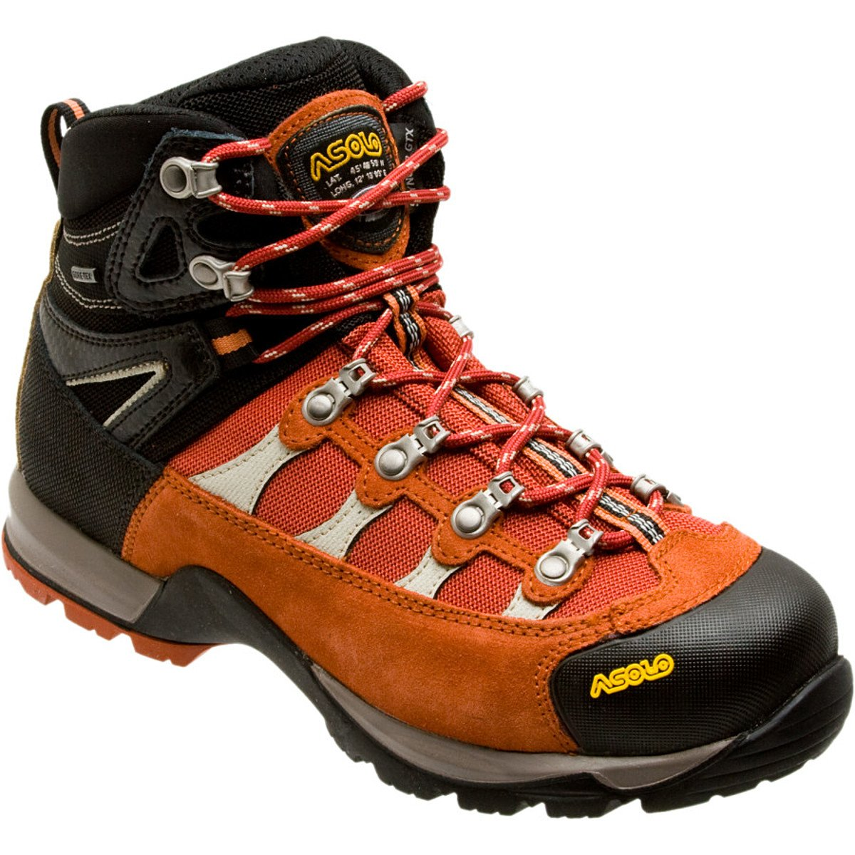 0M3453_791 Asolo Woman's Stynger GTX Hiking Boots - Centre Spice/Black 10.5 M US Asolo Hiking Boots 0M3453717