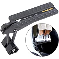 PHATRIP Car Door Step, SUV Door Latch Step Easy Rooftop Access, Folding Foot Pedal Step Ladder for SUV, Truck, Jeep