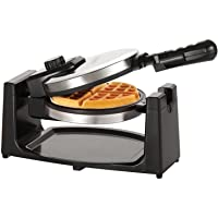 Bella Jewelry 13991 Rotating Waffle Maker (Polished Stainless Steel)