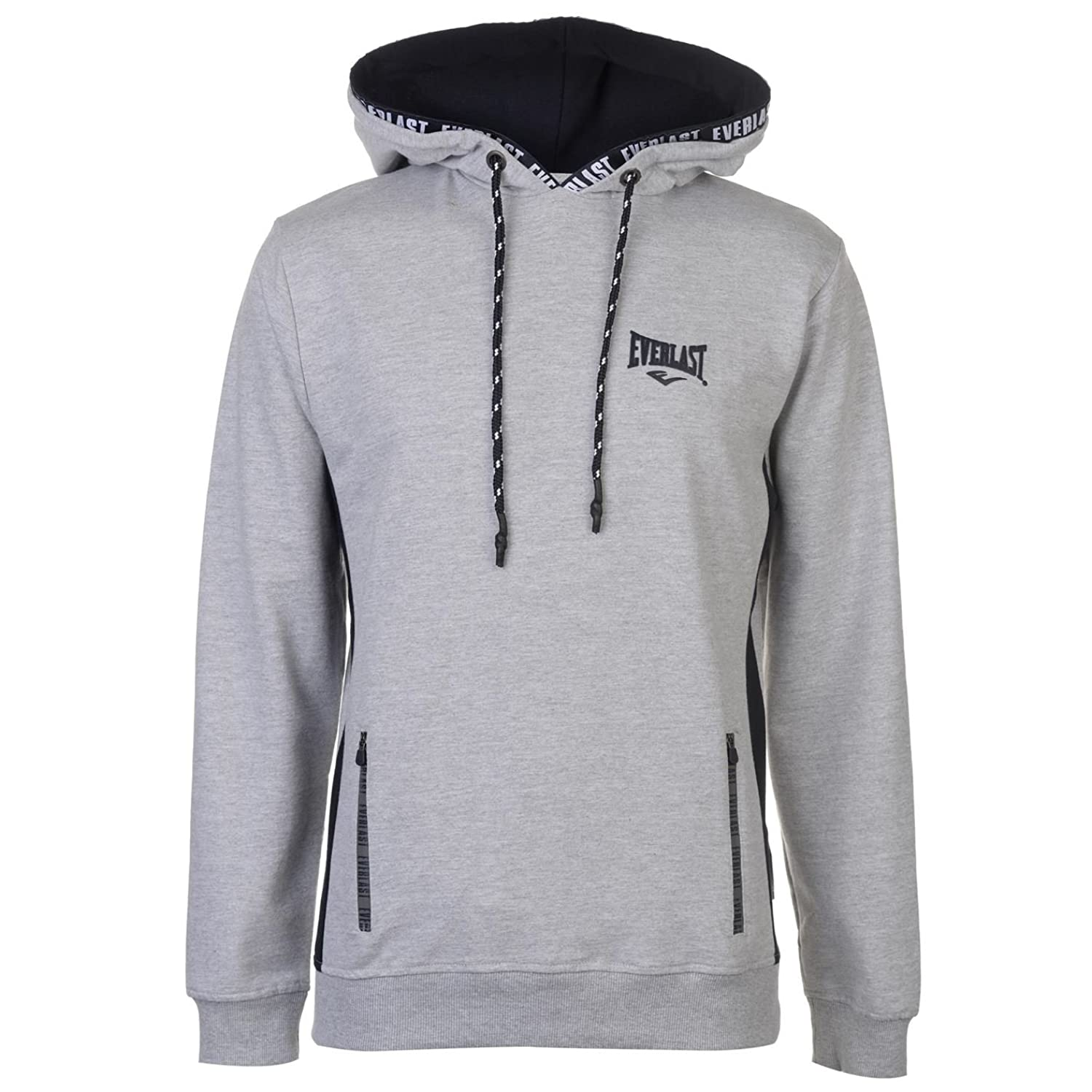 Everlast Hoody Mens Gents OTH Hoodie Hooded Top Full Length Sleeve Drawstring