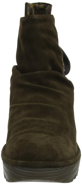 FLY London Women's Yama Ankle Boot B00J9CS0CA 38 M EU / 7 B(M) US|Sludge Oiled