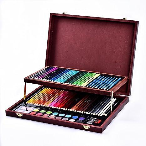 Kanqingqing Caja Colores Niños Suministros de Arte de ...