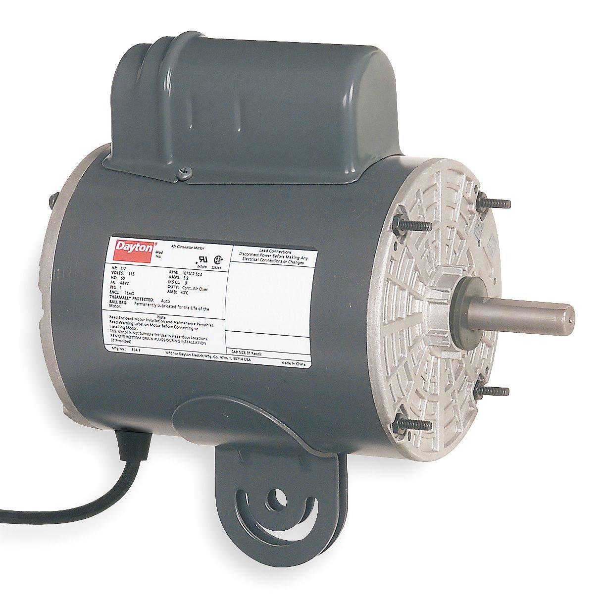 Dayton 4UX61 Motor, 1/4 HP, Yoke
