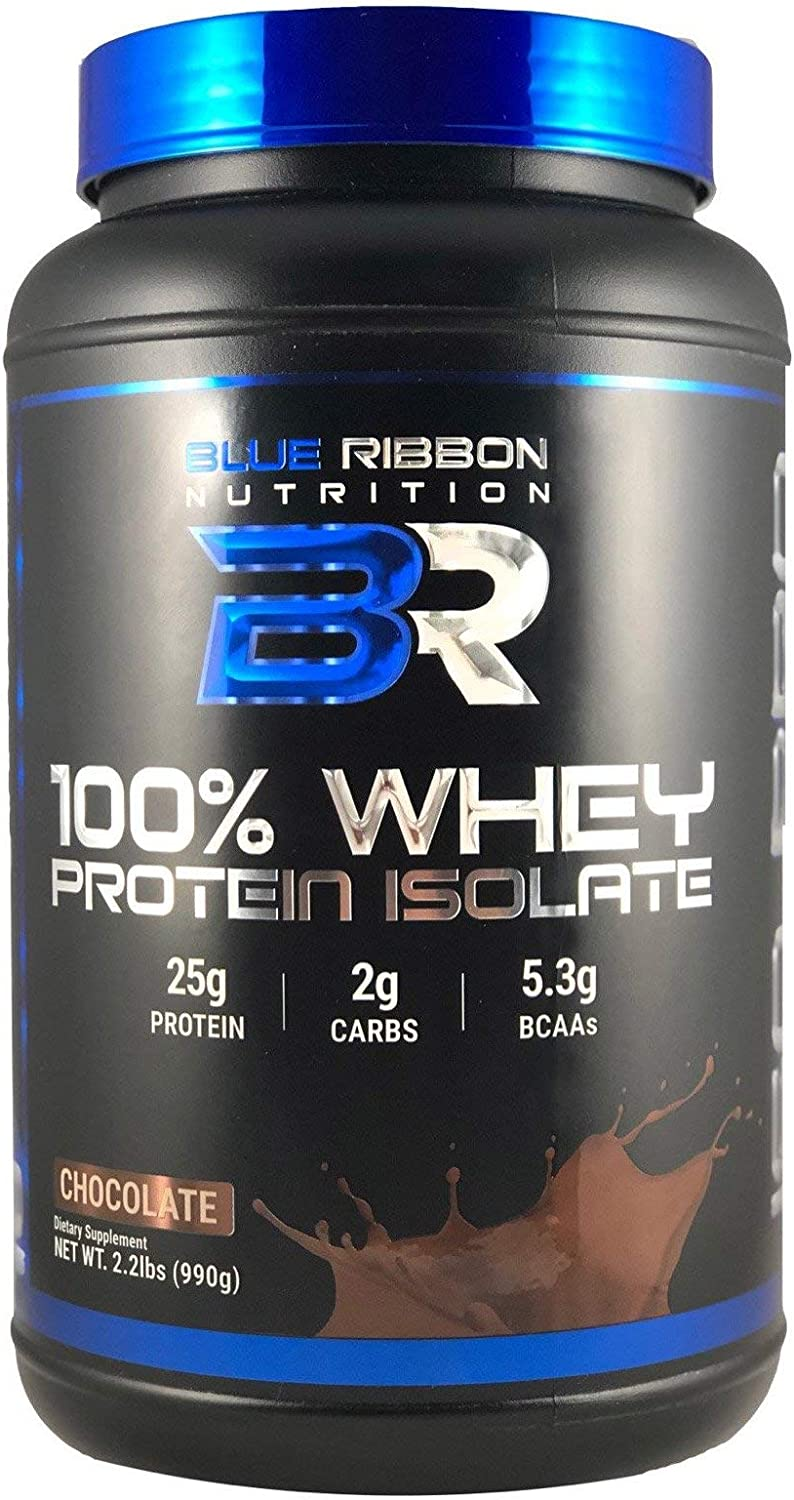 ISO PRO, Premium 100 Whey Protein Isolate Powder, High-Quality Cold-Processed Protein sourced in The USA. 25g Protein per Serving, 5.3g Naturally Occurring BCAAs, 30 Servings – Chocolate.