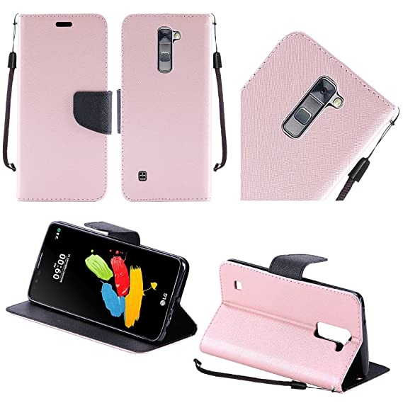 LG Stylo 2 Plus Case, LG Stylus 2 Plus Wallet Case, SOGA [Pocketbook  Series] PU Leather Magnetic Flip Design Wallet Case for LG Stylo 2 Plus  (MS550) /