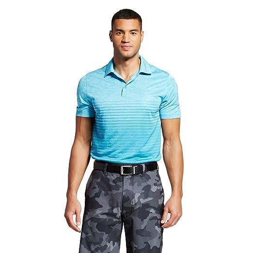 021bbe5ec C9 Champion Men s Printed Golf Polo Shirts Polar Star Heather (Small ...