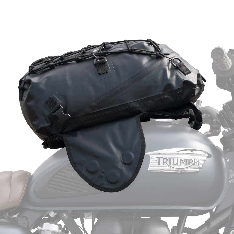 VUZ Moto 22L Dry Tank Bag Backpack | Waterproof Backpack & Magnetic Motorcycle Tank Bag Vuz VUZ-DTB