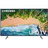 "Samsung 55"" Smart TV 4K Televisor Ultra HD Pantalla LED TV con HDR Wi-Fi Netflix YouTube Hulu Vudu y más UN55NU7200FXZA (Renewed)"