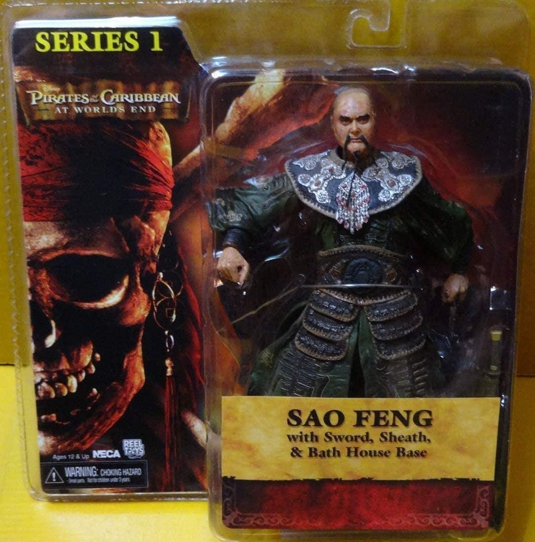 NECA Figura Piratas del Caribe Sao Feng.: Amazon.es: Juguetes y juegos