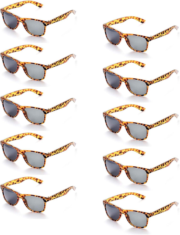 Onnea Wholesale Multi PACK Unisex 80S Retro Style Promotional Party Sunglasses